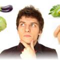 человек думает какие овощи