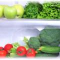 ящик холодильника с овощами