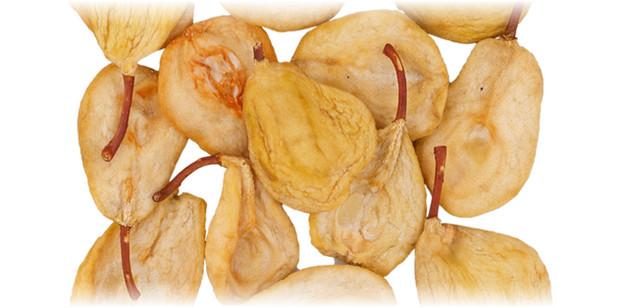 ломтики сушеной груши