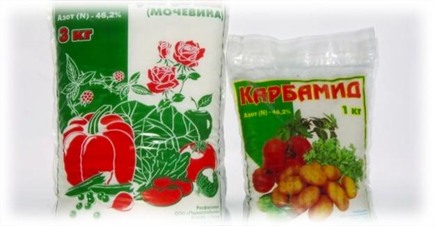удобрение для вишни карбомид