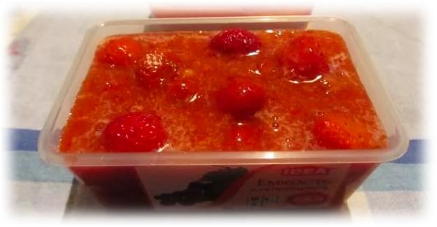 ягода в сиропе