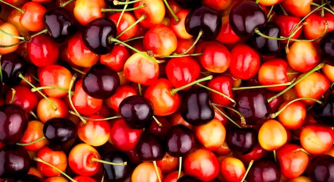 смесь черешни и вишни